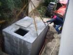 Citerne béton pour recueil d'eau de pluie 5800L