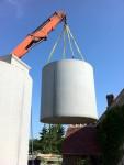 Citerne béton pour recueil d'eau de pluie 10000L