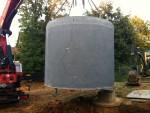Citerne béton pour eau pluviale 10000L