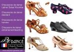 Robe Salsa, robe de danse sportive, chaussures de danse latine 3