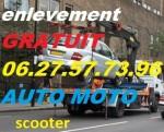 épaviste AUTO MOTO UTILITAIRE ENLÈVEMENT gratuitement dans