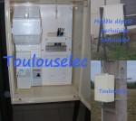 Coffret compteur de chantier EDF / ENEDIS NEUF homologué (PRO)