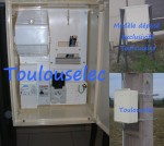 Coffret compteur de chantier EDF / ENEDIS NEUF homologué (PRO) 2
