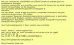 Utilitaire demenagement 0626870429