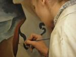 Stage de peinture à fresque ( fresco) 3
