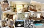 Bel et Spacieux appartement F5 120m2 à EZE Cote d'Azur