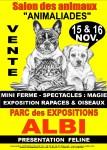 Salon animalier Albi 15 et 16 nevembre