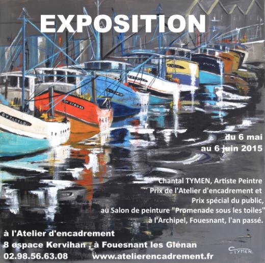 Exposition De Peinture Chantal Tymen Fouesnant