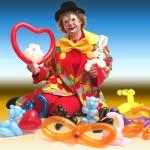 Clown'ette Sculpture Ballons Modelés NICOLE la CLOWNETTE 2