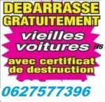 100°/enlevement ° gratuit  epave  0627577396