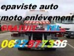 . Service gratuit enlèvement récupération auto. moto.