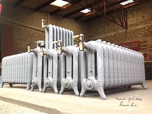 radiateur fonte fleurie elegant cool robinet radiateur fonte rdition des anciens robinets en. Black Bedroom Furniture Sets. Home Design Ideas