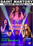Les Talents de The Voice en concert