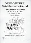 Vide grenier 22/05/2016 Saint Meen le grand 35