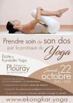 Prendre soin de son dos par la pratique du yoga