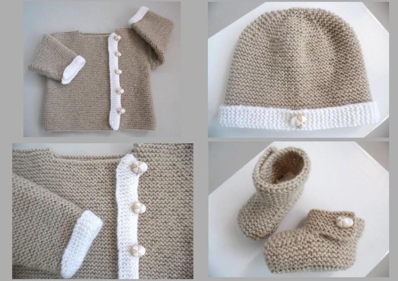 23dcb8302b1c7 Vêtement bébé trousseau naissance 1 Vêtement bébé trousseau naissance ...