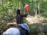 TREC randonnée de competition a cheval et poney