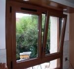 Fenêtre en bois et PVC porte d'entrer bling des bois PVC