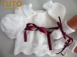 Explication TUTO trousseau layette bébé tricot