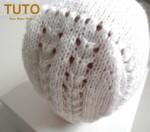 Explication TUTO béguin bébé tricot laine faitmain 2
