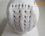 Explication TUTO béguin bébé tricot laine faitmain 3