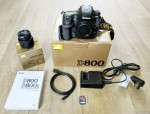 Nikon D800 36.3MP Digital SLR Appareil Photo + AF Nikkor 50 mm Ob