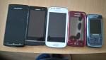 Six smartphones en très bon état et bon prix à vendre.