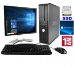 Pc Complet DELL GX780 CORE 2 DUO E7500 250 HDD 64 SSD 6 GB DVDRW