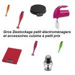Petit électroménagers et accessoires cuisine à petit prix