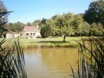 La maison du garde chasse et son étang