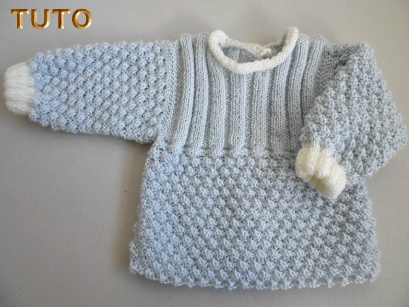 tuto tricot b b trousseau bleu azur montpellier. Black Bedroom Furniture Sets. Home Design Ideas