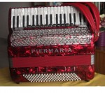 Accordeon Piermaria 11 registres 120 basses touches piano 2