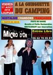 Concert dansant gratuit chansons françaises Le Trio Micro d'Or