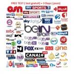 IPTV 8000 Chaines et 2500 Chaines en VOD ABonnement 1 An.